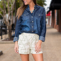 The Mary Vintage Shirt, Denim