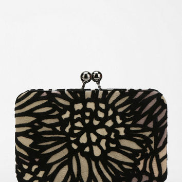 Urban Outfitters - Kimchi Blue Velvet Hard-Case Clutch
