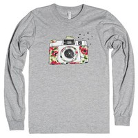 Take A Picture-Unisex Heather Grey T-Shirt