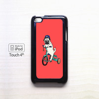 Pug Bicycle For Ipod 4/Ipod 5 case ZG