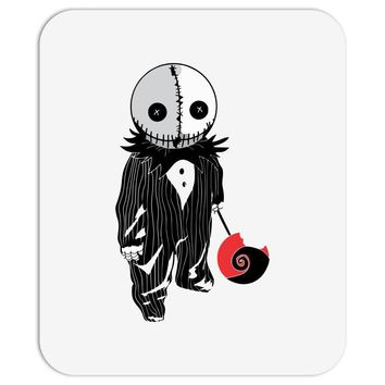 creepy doll trick or treat Mousepad