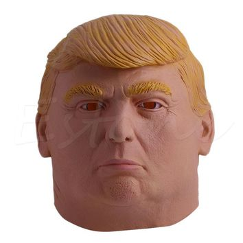 political cosplay 1PC Donald Trump Mask Billionaire Presidential Costume Latex Cosplay