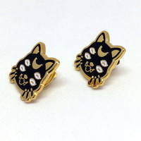 Coey: Luna Cat (Enamel Pins)