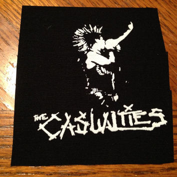 The Casualties Punk Patch