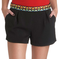 Color Code Shorts | Mod Retro Vintage Shorts | ModCloth.com