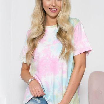 Angel Tie Dye Top