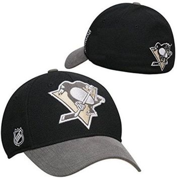 Reebok Pittsburgh Penguins Flex Fit Hat Center Ice Collection Cap