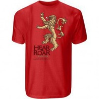 Game of Thrones Lannister Men's T-Shirt,  HBO  Shows  Game of Thrones , HBO Shop