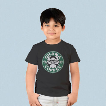 Kids T-shirt - Ohana Coffee