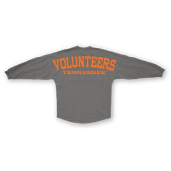 "University of Tennessee Sweeper Jersey ""VOLUNTEERS"" Grey"