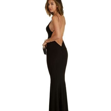 Isabella-black Homecoming Dress