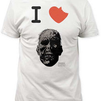 The Walking Dead (The Book) I Heart Zombie T-Shirt