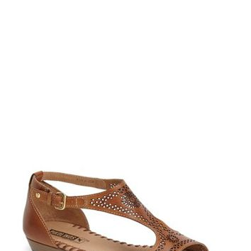 Women's Pikolinos 'Alcudia' Perforated Leather Sandal,