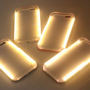 LED Light selfie Phone Case for Iphone 6/6s for iphone 6 Plus / 6s Plus Light Selfie Led Cover