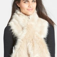 Women's Ted Baker London Faux Fur Scarf