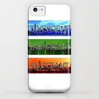 Divergent iPhone & iPod Case by FANDOM FUSION