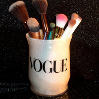 Vogue Makeup Brush Holder - YOU CUSTOMIZE!