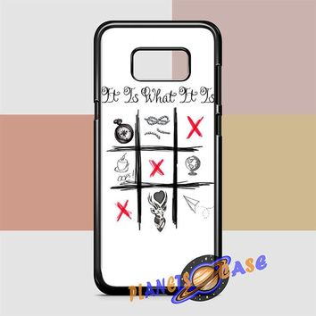 One Direction Louis Tomlinson Tattoos Samsung Galaxy S8 Case Planetscase.com