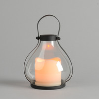 School House Lantern, Black Small