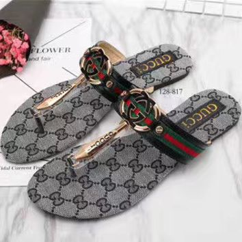 Gucci Casual Fashion Sandal Slipper Shoes