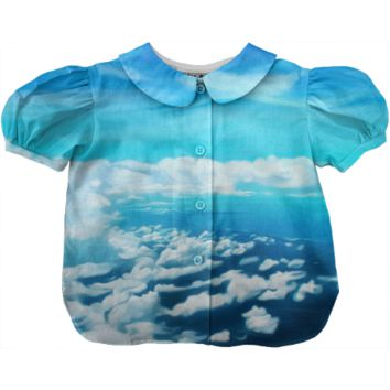 Above the world kids blouse
