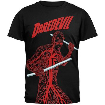 Daredevil - Nervous System Subway T-Shirt