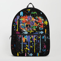 Paint DSLR Backpack by Cindys