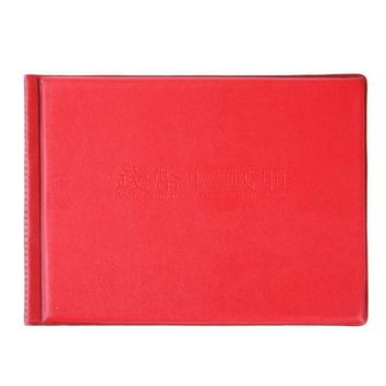 Coin Album 10 Page 180 Pockets Coin Collection Book Coin Holder Album Book for coins Collector Gift Supplies Black Red 2 Colors