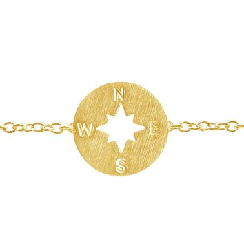 Compass Bracelet - Direction of Life & I'd Be Lost Without You