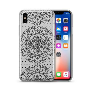 Steph Okits X Milkyway Cases Dots & Mandala - Clear Case Cover