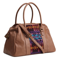 H&M - Small Weekend Bag - Light brown - Ladies