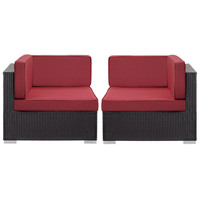 Gather Corner Sectional Outdoor Patio Set of Two