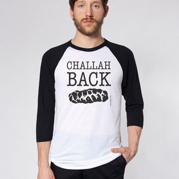 Challah Back - Men's Baseball Jersey - FREE SHIPPING
