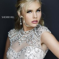 Sherri Hill Short Dress 4304 at Prom Dress Shop