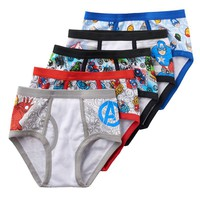Avengers Assemble 5-pk. Briefs - Boys