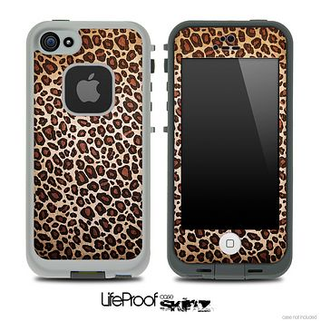 Vibrant Cheetah Animal Print V5 Skin for the iPhone 5 or 4/4s LifeProof Case