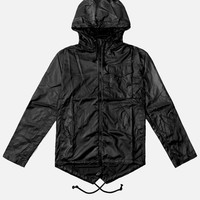 Fishtail Raincoat / Black