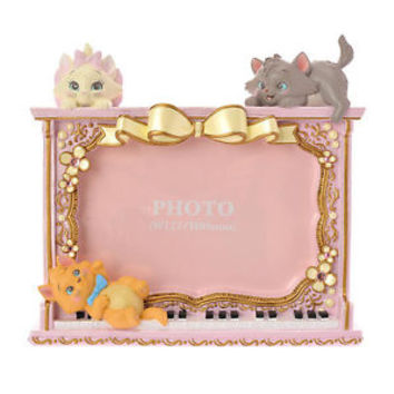 The Aristocats Photo Frame Lovely ❤ Disney Store Japan Marie Toulouse Berlioz
