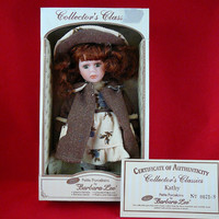 Limited Edition Barbara Lee Petite Porcelain Collectible Doll With COA - Kathy