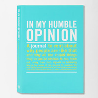 Urban Outfitters - In My Opinion Mini Inner Truth Journal