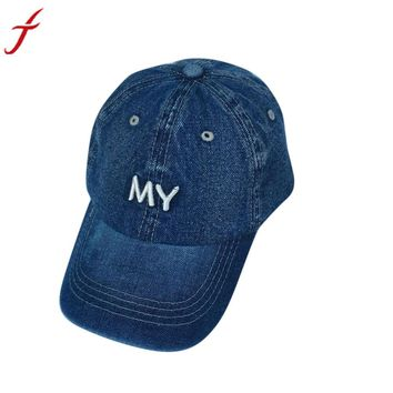 Baseball Cap Men Women Snapback Caps Hats For Women Visor Bone Jeans Denim Blank Gorras Casquette Plain 2017 Cap Hat