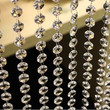 3.3 FT Crystal Clear Acrylic Bead Garland Chandelier Hanging wedding supplies #lsstore1866#