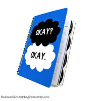 Fault in Our Stars Daily Planner 2014 / 2015 - Okay Clouds - 18 Month Daily Student Agenda Weekly College Academic Back to School