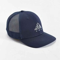 Patagonia Pyramid Logo Trucker Hat- Navy One