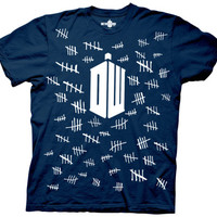 Dr. Who - Tally Marks T-shirts at AllPosters.com