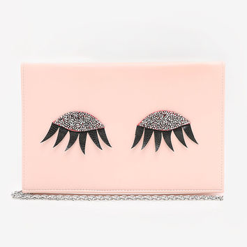Eyelashes Clutch | bebe