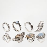 New Look Festival Ring Pack at asos.com