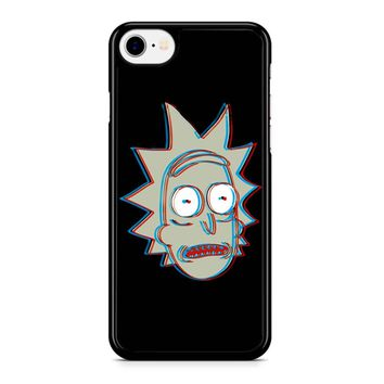 Rick And Morty - 3d Rick iPhone 8 Case