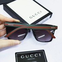 GUCCI tide brand women's wild holiday outdoor fashion polarized sunglasses