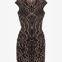 RVN EXCLUSIVE Alligator Jacquard Dress-Dresses-Clothing-Categories- IntermixOnline.com
